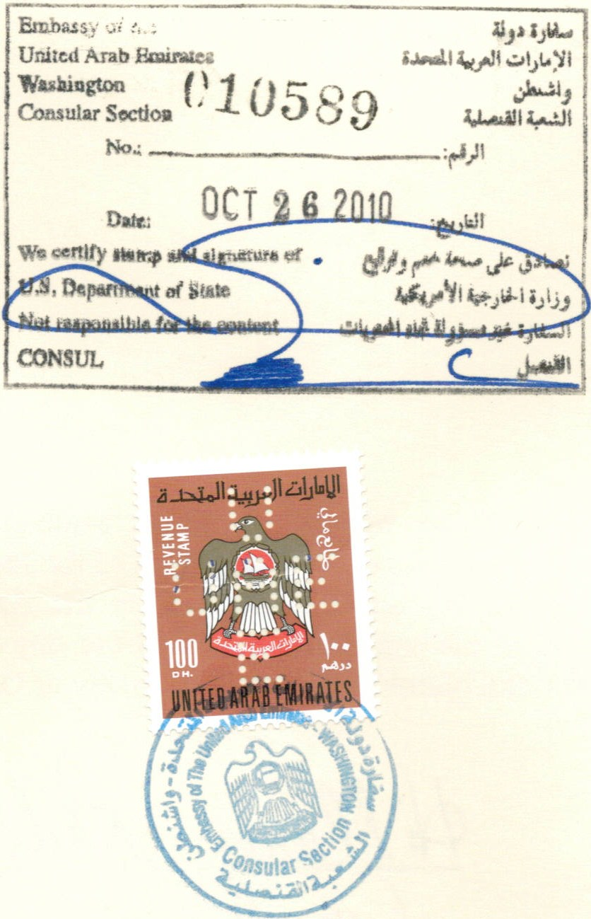 Legalization embassy legalization consular for Consul authentication