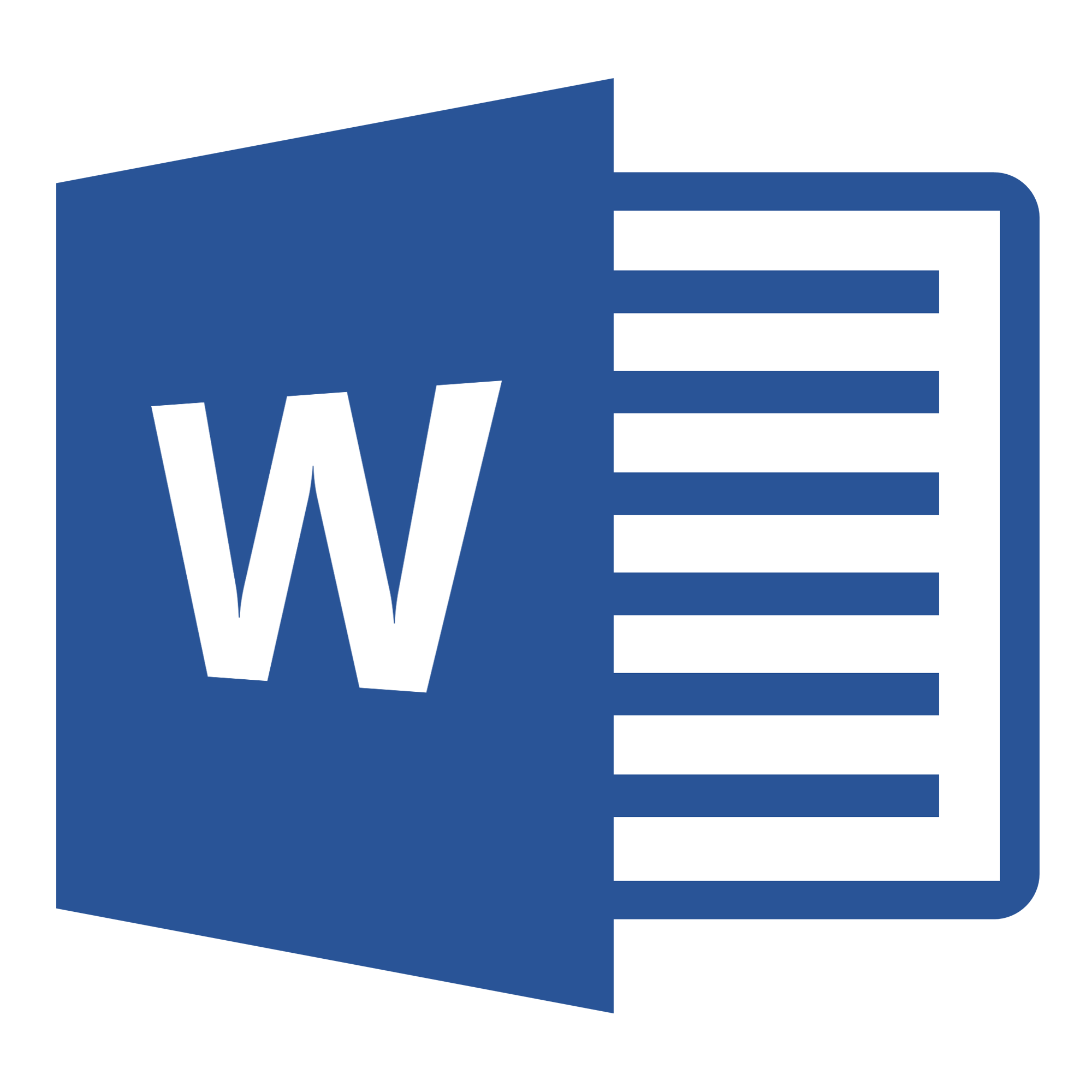 Word document download image
