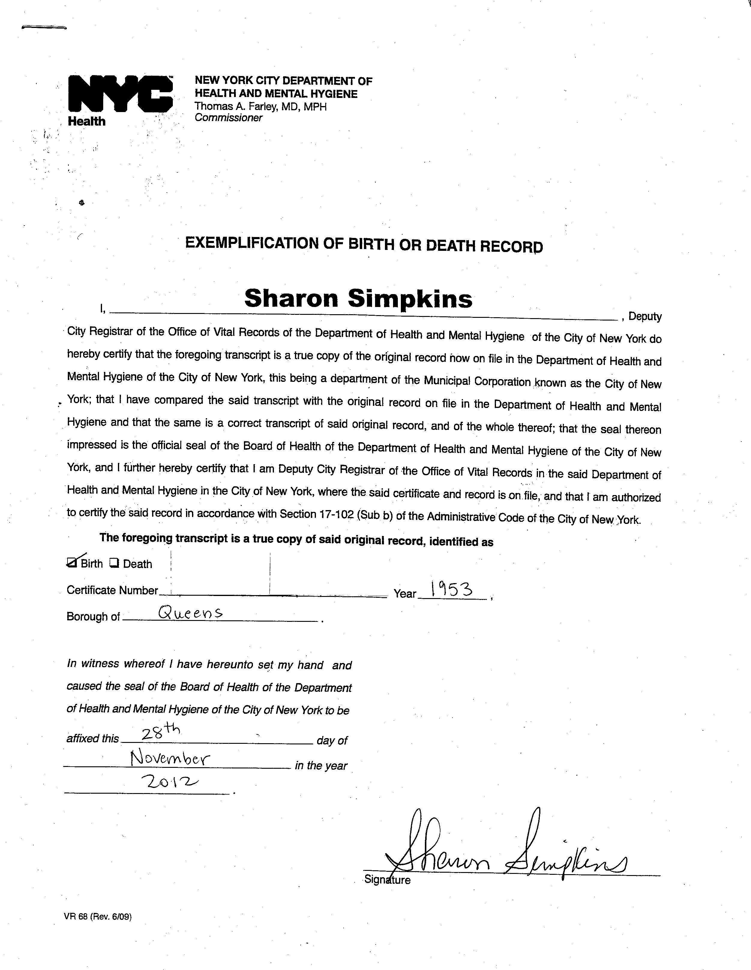 How to get your short/long form birth certificate apostille