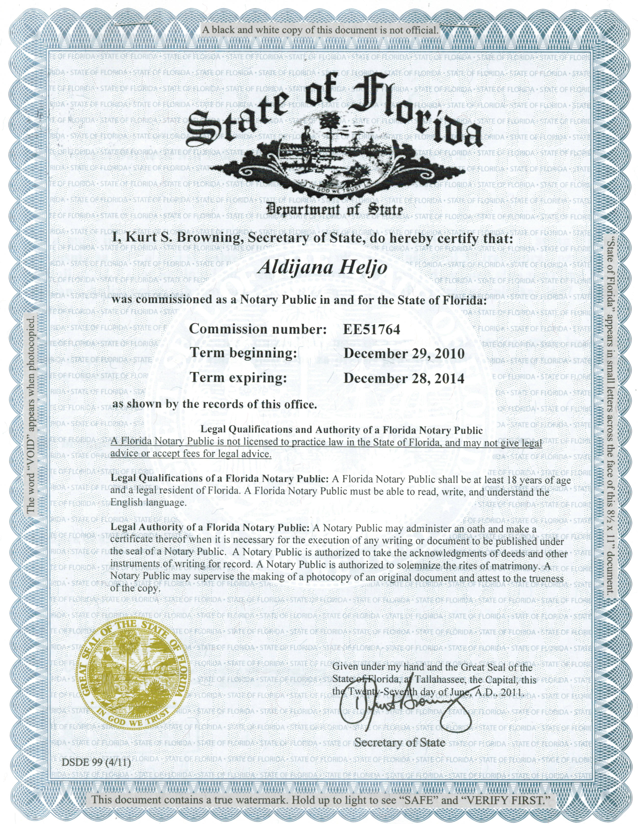 Authentication Notary Apostille Examples Legalization Examples